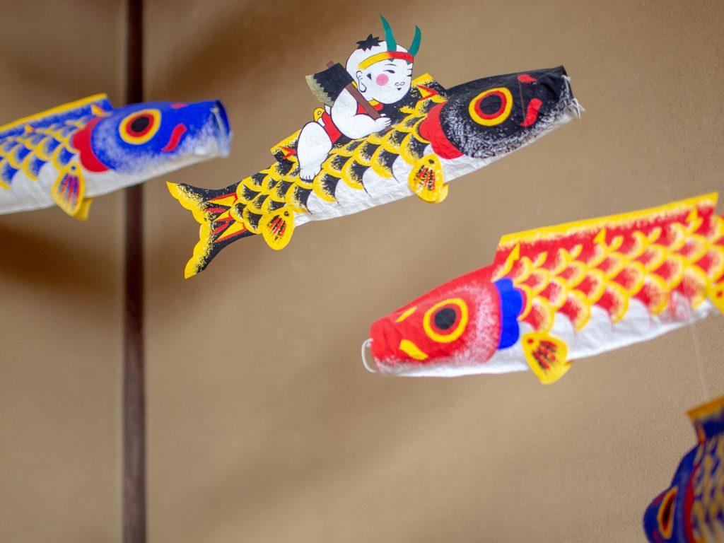小原屋の鯉のぼり